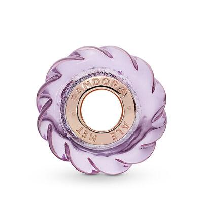 Pandora Rose™ Murano Glittering Grooves Charm