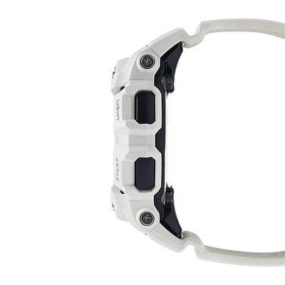 G-Shock Power Trainer Bluetooth White Watch, 51.3mm