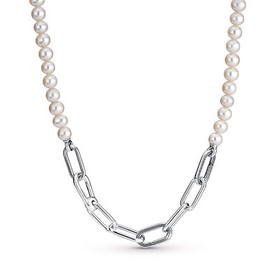 Pandora ME Freshwater Cultured Pearl Necklace