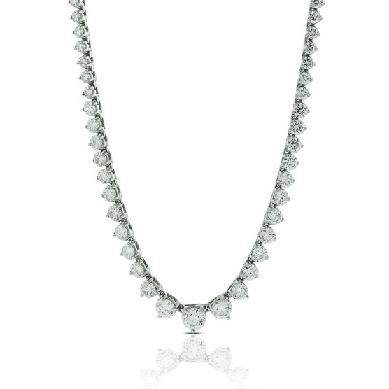 Riviera Diamond Necklace 14K, 8 ctw.