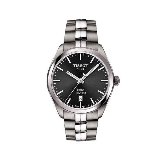 Tissot  PR100 Titanium Quartz Watch, 39mm