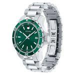 Movado Series 800 Green Dial & Bezel Watch