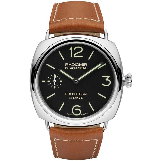 PANERAI Radiomir Black Seal Acciaio Watch