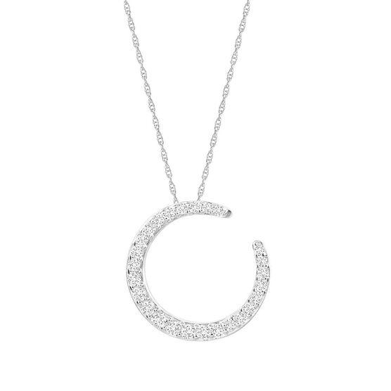 HOPECIRCLE Diamond Pendant 14K, 1/2 ctw.