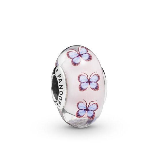 Pandora Butterfly Murano Glass Charm