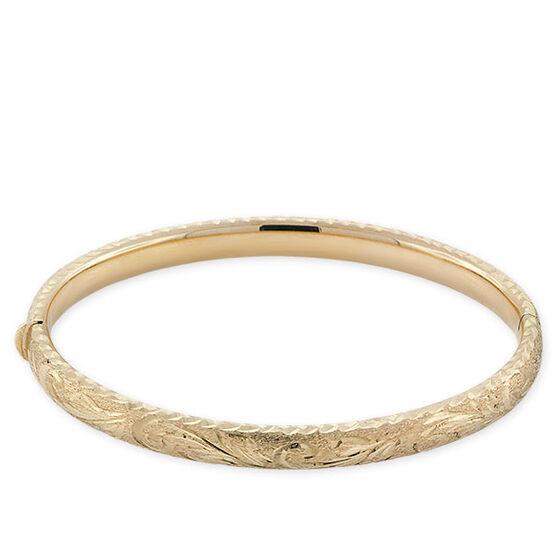 Toscano Bangle Bracelet 14K