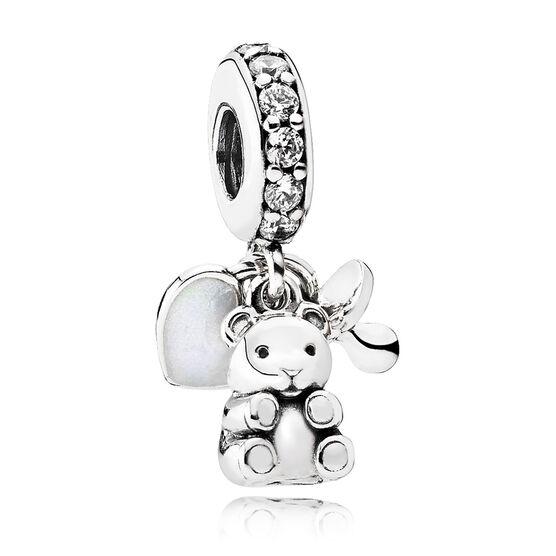 Pandora Baby Treasures CZ Dangle Charm