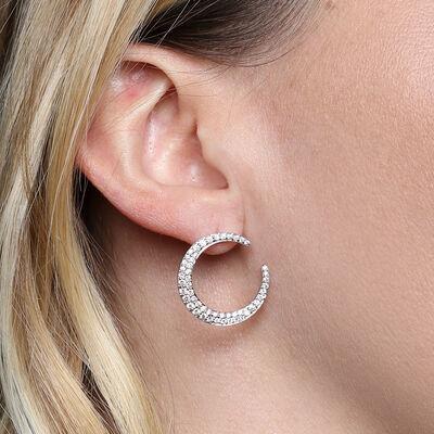 HOPECIRCLE Diamond Earrings 14K, 1 ctw.