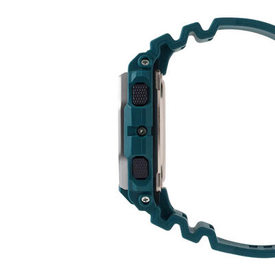 G-Shock G-Lide Turquiose Bluetooth Watch, 50.9mm