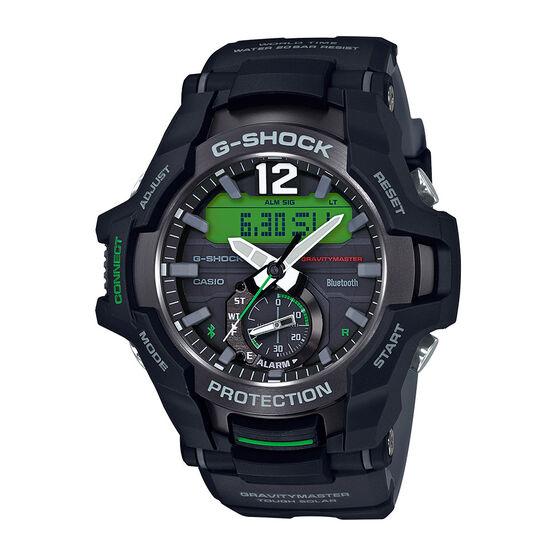 G-Shock Master of G Gravity Green-Detailed Analog Bluetooth Watch