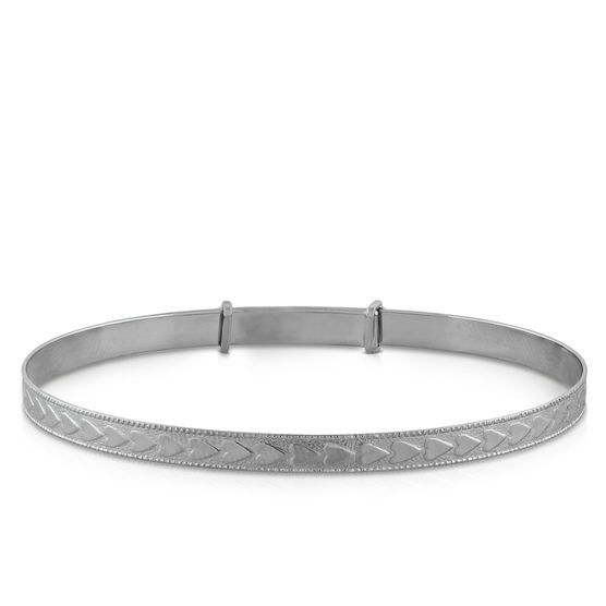 Baby Bangle in Silver