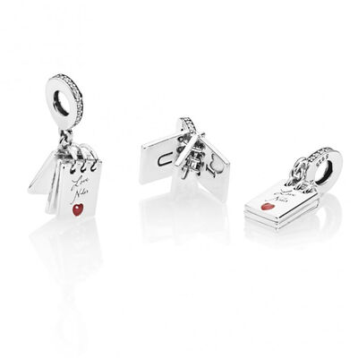 PANDORA Love Notes CZ & Enamel Charm