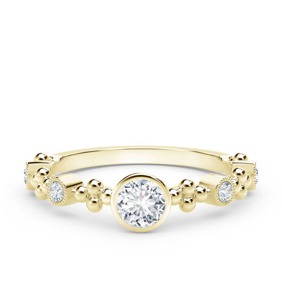 The Forevermark Tribute™ Collection Feminine Diamond Ring 18K