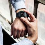 G-Shock Gray & Black Rectangular Watch, 48.9mm