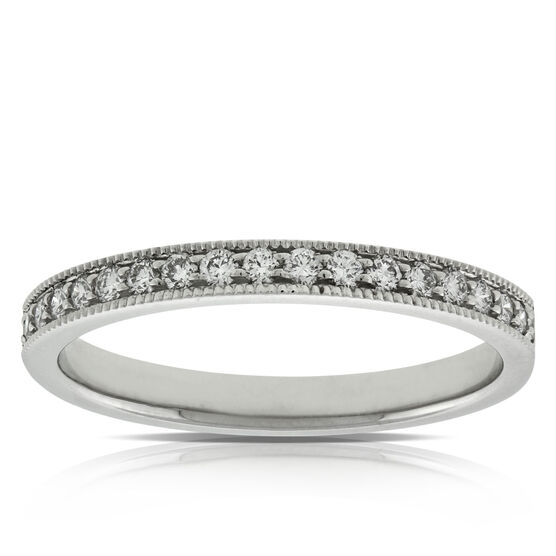Diamond Wedding Band in Platinum