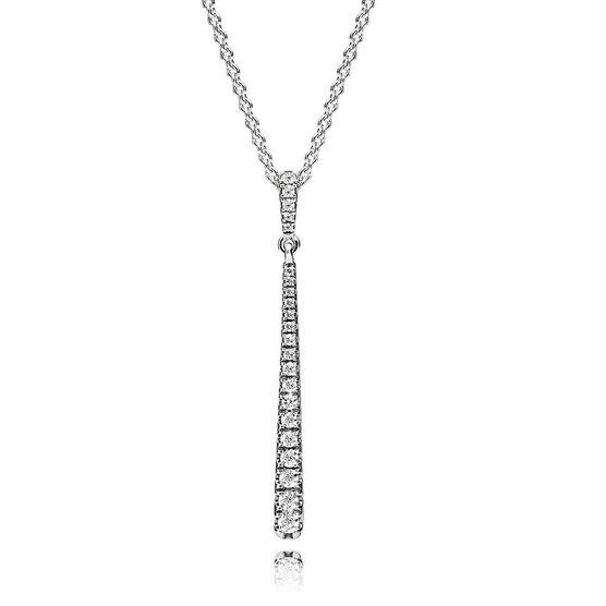 Pandora Shooting Star CZ Necklace