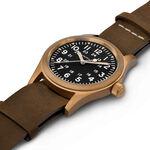 Hamilton Khaki Field Bronze Mechanical Black Dial Watch, 38mm