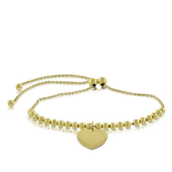 Bolo Heart Bracelet 14K