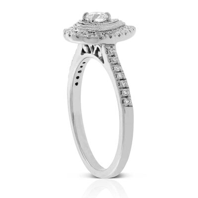 Ikuma Canadian Diamond Pear-Shaped Ring 14K