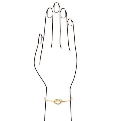 Toscano Knot Bangle 18K