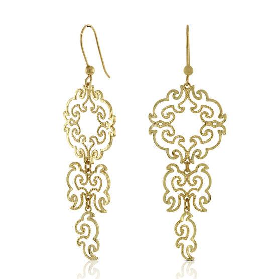 Dangle Earrings 14K