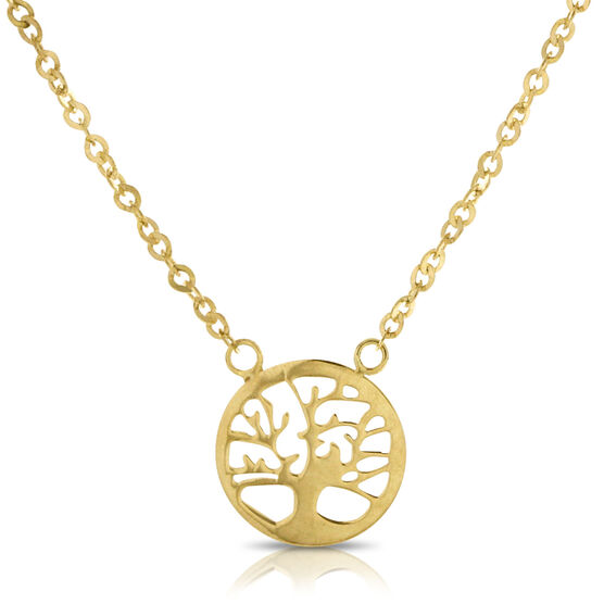 Tree of Life Necklace 14K