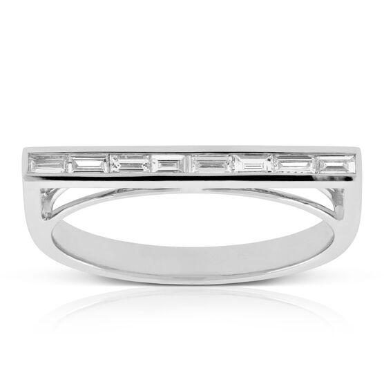 Diamond Bar Ring 14K