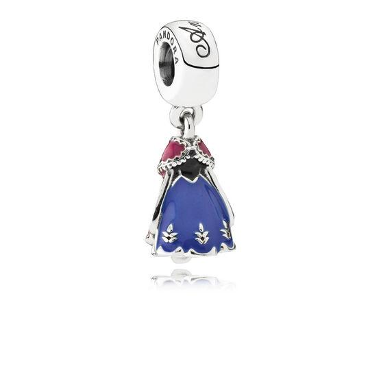 Pandora Disney Anna's Dress Charm