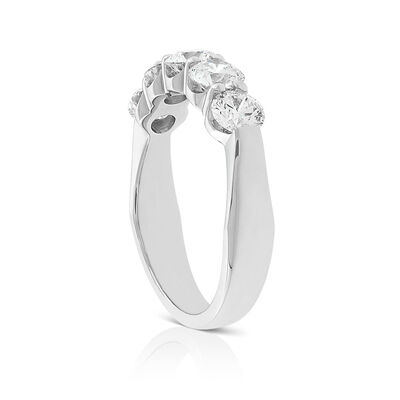 Signature Forevermark 5-Stone Diamond Band 18K, 1.46 ctw.