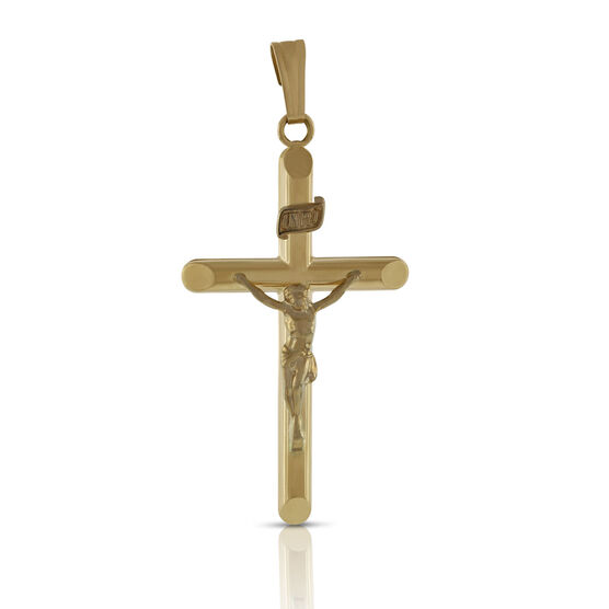 Crucifix Pendant 14K
