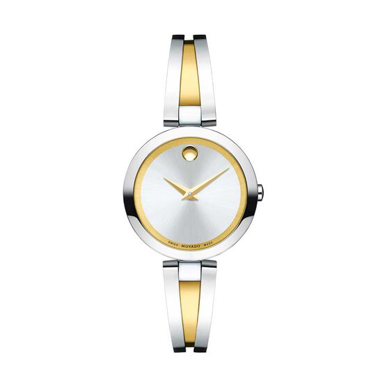 Movado Aleena Two-Tone PVD Watch, 27mm
