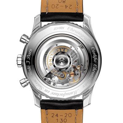 Breitling Navitimer B01 Chronograph 46 Black Leather Watch, 46mm