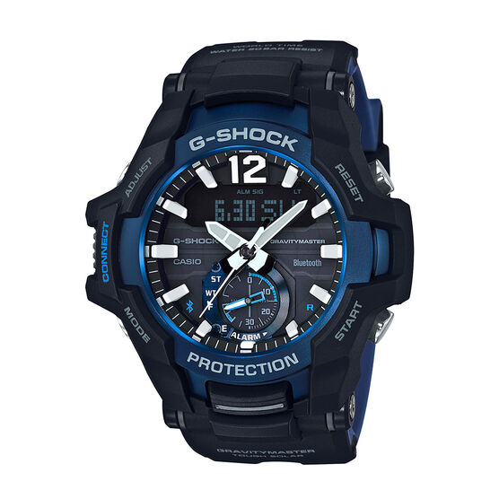 G-Shock Master of G Gravitymaster Blue-Detailed Bluetooth Analog Watch