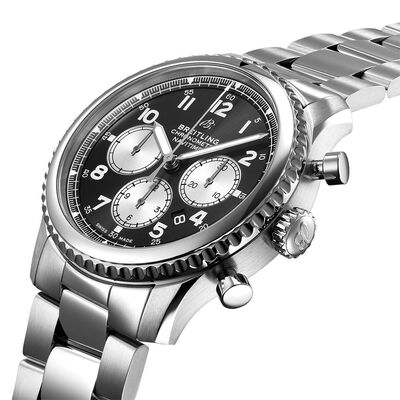 Breitling Navitimer 8 B01 Chronograph 43 Black Dial Watch