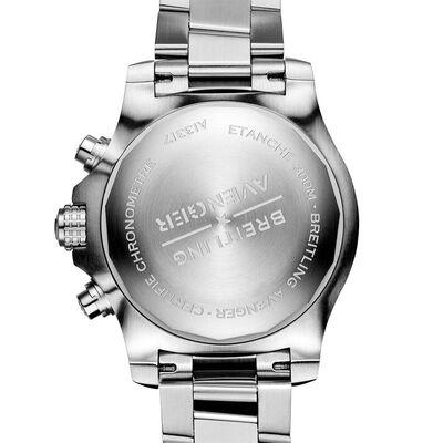 Breitling Avenger Chronograph 45 Black Steel Watch, 45mm