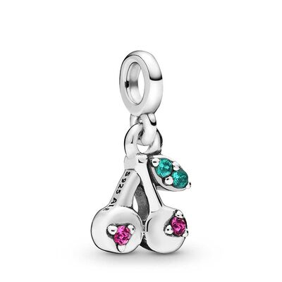 Pandora Me My Cherry Crystal Dangle Charm