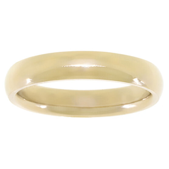 4mm Comfort Fit Band 14K, Size 8
