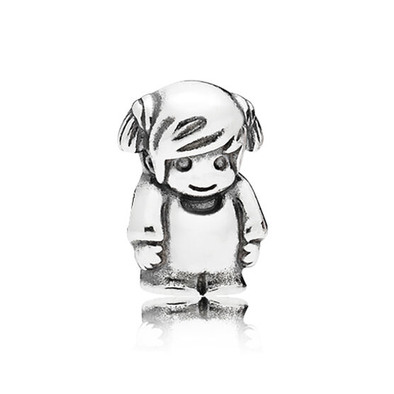 PANDORA Little Girl Petite Locket Charm