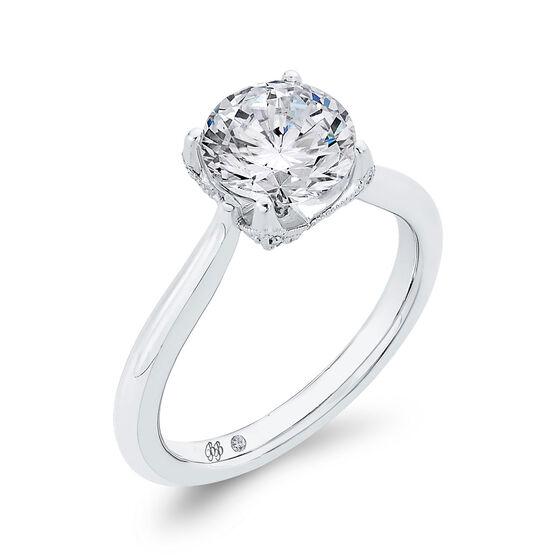 Bella Ponte Engagement Ring Setting 14K