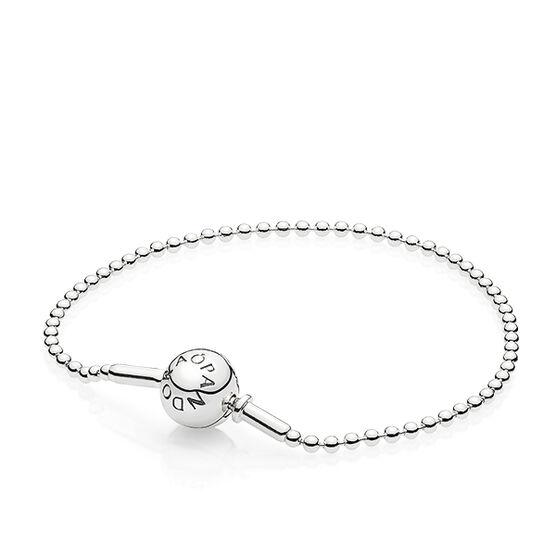 Pandora ESSENCE Beaded Silver Bracelet
