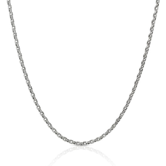 Eight-Sided Rolo Chain 14K, 24""