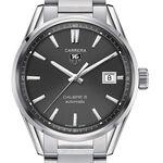TAG Heuer Carrera Calibre 5 Automatic Mens Grey Steel Watch