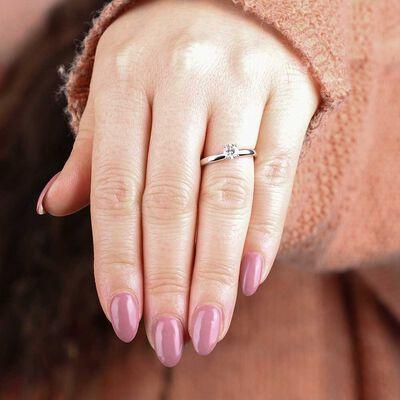 Ikuma Canadian Diamond Ring 14K, 1/2 ct.