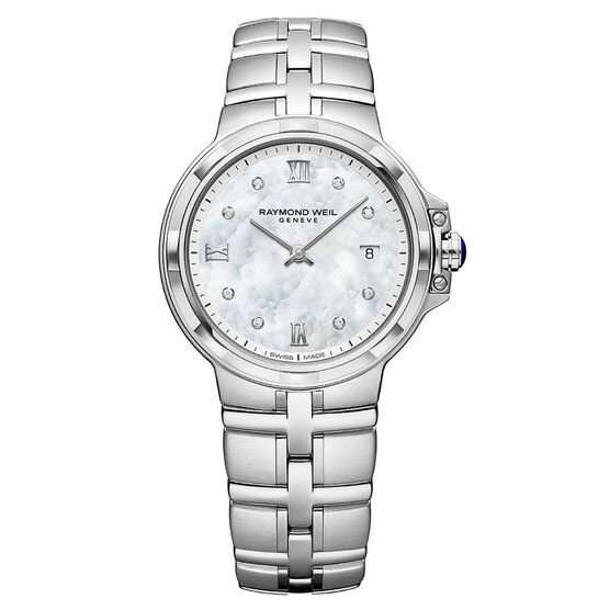 Raymond Weil Parsifal Classic Diamond Watch, 30mm