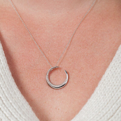 HOPECIRCLE Diamond Pendant 14K, 2/5 ctw.