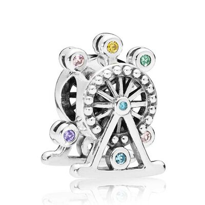 Pandora Ferris Wheel Multi-Color Crystal Charm