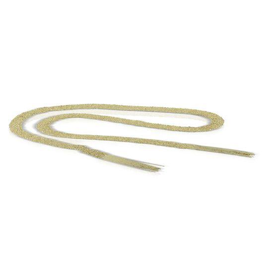 "Toscano Woven 'Silk' Scarf Necklace 14K, 36"""