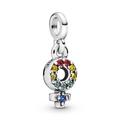 Pandora ME My Girl Pride Crystal Dangle Charm