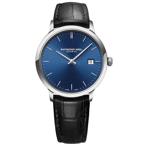 Raymond Weil Toccatta Classic Blue Dial Date Watch, 39mm