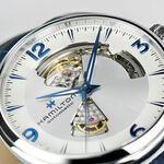 Hamilton Jazzmaster Open Heart Blue Leather Automatic Watch, 42mm